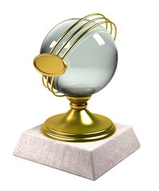Free 3d Gold Trophy Cup Stock Images - 16264174