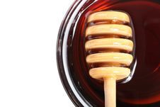 Free Honey Dipper. Royalty Free Stock Photography - 16264827