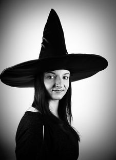 Free Witch Royalty Free Stock Photo - 16264865