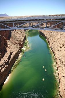 Free Colorado River Bridge Royalty Free Stock Photography - 16265257