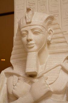 Egyptian Statue At Wafi Mall, Dubai Stock Photos