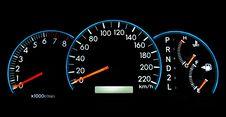 Free Speedometer Royalty Free Stock Photo - 16266105