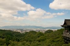 Free Panoramic View Of Kyoto Royalty Free Stock Image - 16266436