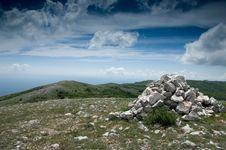 Free Mountain Landscape Stock Photography - 16266472