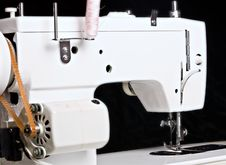 Free Sew Machine Yarn And Needle Work Tool Stock Photos - 16266793