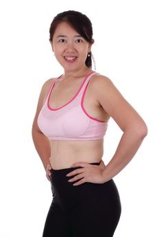 Free Fitness Woman Stock Image - 16266881