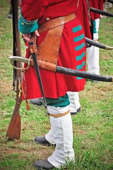 Free Reenactment Of Battle Of Marsaglia (October 1693) Royalty Free Stock Photography - 16267167