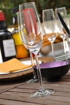 Free Wine Glasses Royalty Free Stock Photography - 16267407