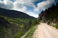 Free Road Toward Mountains Stock Image - 16268101