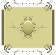 Decorative Retro Element For Design Royalty Free Stock Photography
