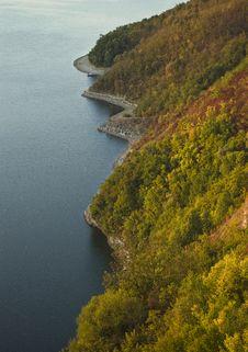 Free Autumn Shoreline Stock Photos - 16268743