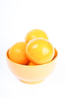 Free Yellow And Fresh Tomatos Stock Images - 16269054