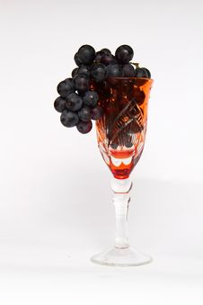 Free Grapes In A Glass Stock Photos - 16269073