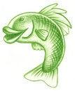 Free Hand Drawn Fish Royalty Free Stock Photos - 16273218
