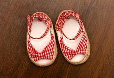 Free Child S Shoe Stock Photos - 16270323