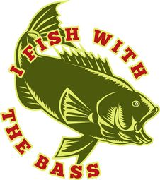 Free Largemouth Bass Fish Royalty Free Stock Images - 16270569