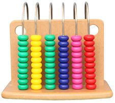 Colourful Abacus Royalty Free Stock Image