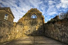 Free Celtic Friary Detail, HDR Image Royalty Free Stock Photos - 16271488
