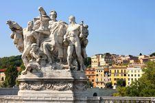 Free Bridge In Rome Stock Image - 16271731