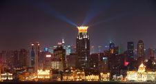 Free Night View Of Shanghai China Stock Photo - 16271830