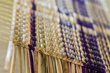 Free Detail Of Straw Mat On A Weave Stock Photography - 16272432