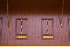 Free Traditional Thai Style Window Royalty Free Stock Images - 16273609