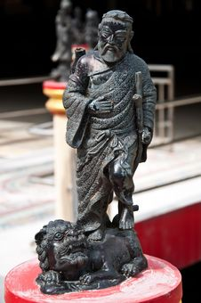 Free China Sculpture Stock Image - 16273611