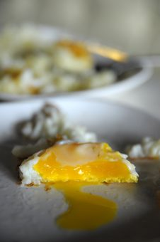 Free Fried Egg Royalty Free Stock Images - 16274359