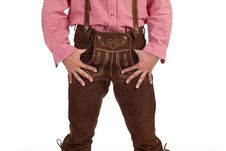 Free Bavarian Man With Oktoberfest Leather Trousers Stock Photo - 16274570