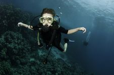 Free Young Scuba Diver Stock Images - 16274914