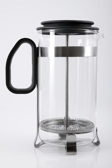 Free French Press Royalty Free Stock Photo - 16275325
