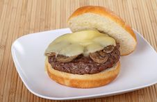 Free Mushroom Burger Royalty Free Stock Photo - 16278955