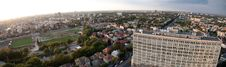 Free Bucharest Panoramic Aerial View Royalty Free Stock Photo - 16279115
