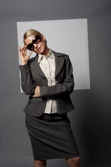 Woman In Sunglasses Stock Photography
