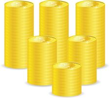 Free Vector Coins Stock Image - 16279561