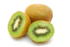 Sliced Kiwi Fruit Isolated Royalty Free Stock Photo