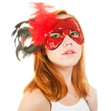 Free Girl In Mask Royalty Free Stock Image - 16279946
