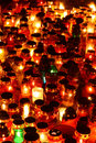 Free Red, Yellow And Green Candles Stock Photography - 16285812