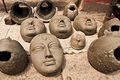 Free Clay Heads For Drying Stock Image - 16288251