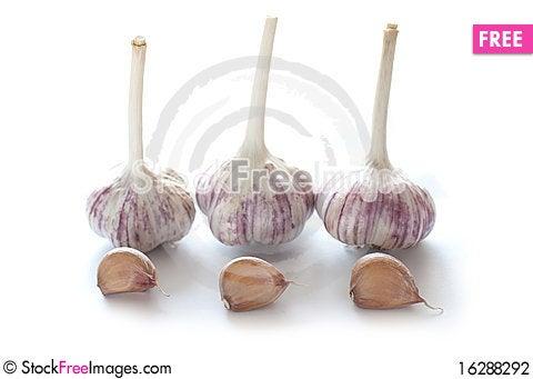 Free Garlic Stock Photography - 16288292
