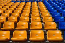 Free Stadium Seat Royalty Free Stock Photo - 16280145