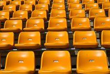 Free Stadium Seat Royalty Free Stock Photography - 16280207