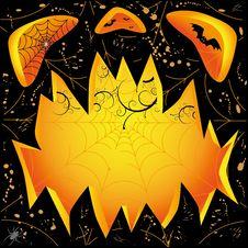 Free Jack O Lantern Dark Face Royalty Free Stock Photos - 16280208