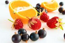 Free Berry-fruit Mix. Stock Photos - 16280383