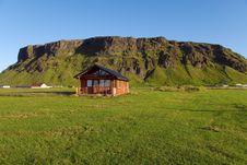 Vik Cottage In Vellir Stock Photo