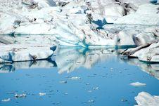 Free Jokulsarlon Lake With Glacier Stock Photography - 16280602
