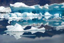 Free Jokulsarlon Lake Blue Iceberg Royalty Free Stock Images - 16280649