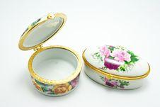 Free Porcelain Box Stock Image - 16280951
