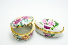 Free Porcelain Box Stock Photography - 16280972