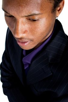 Free Young Black Businessman Stock Photography - 16280982